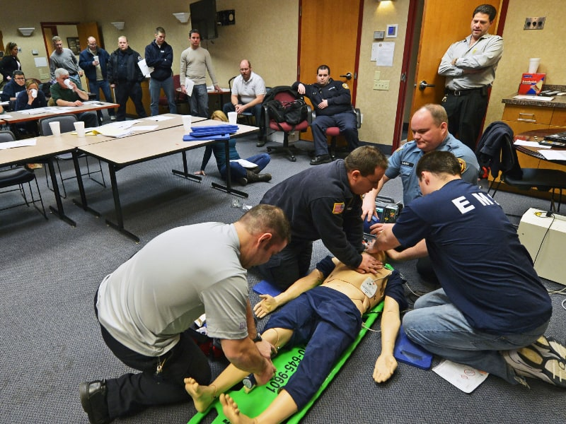 Salem Fire Foundation AED Training for Citizens